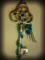 Gate Keepers Fantasy Key by ArtByStarlaMoore