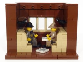 Lego Sherlock Holmes Give-Away by JamesMacaluso