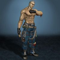 Tekken 6 Bryan Fury by ArmachamCorp