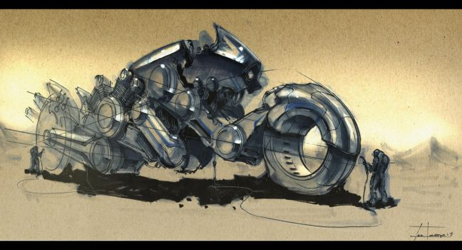 motorcycle (2-5-13) by zakforeman