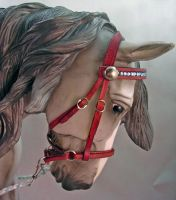 1:9 scale bitless bridle by silverdragon76