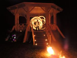 Imbolc Fire Dancing 7 by RobBarker