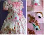 Deer Sweet plush bags by FollyLolly