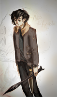 Nico di Angelo by Moozy6
