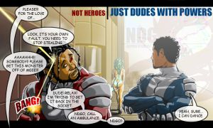 NOT HEROES by NDGO