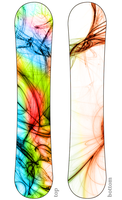 Another snowboard design by jamahata