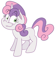 Sweetie Belle Collab by ScoBionicle99