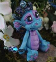 polymer clay princess dragon d by crazylittlecritters