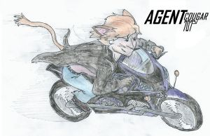 Agent Cougar 707 - bike chase by sgste