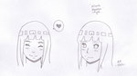 Hinata Sketches by OrchidAlex