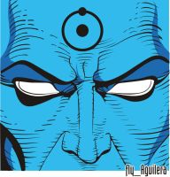 Dr. Manhattan by flyaguilera