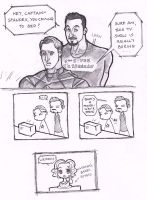 Tony x Steve Avengers - TV by puking-mama