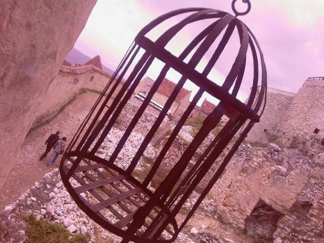 Cage by Pinkhitler666