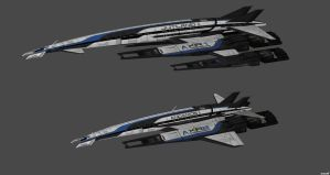 Frigate Prototypes by nach77