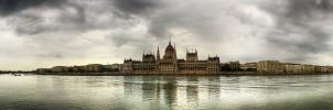 Budapest panorama - Danube by hans64-kjz