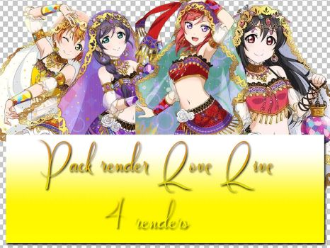 [SHARE FREE] Pack Renders Love Live-4 png by RinsAsaka