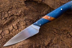 Blue Glow Paring Knife by Dobson