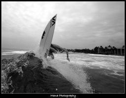 Backside B and W by manaphoto