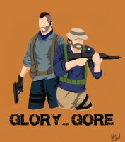 Modern Warfare: Glory and Gore Cover by chocolatetater-tot