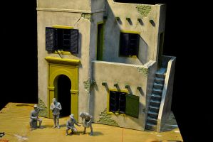 North African House Diorama by hazrinphixel