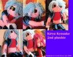 Kiryu Kyosuke 2nd plushie by Crystal-Dream