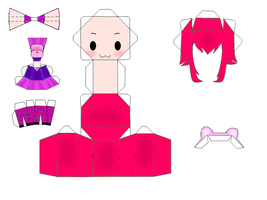 Annie Papercraft by majesticbananan