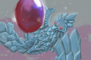 Anivia - Twisted Tree Balloon by Jerhaia-Tsukikitsune