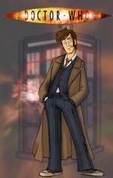 The 10th Doctor by Gorpo