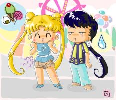 BS Sailor Moon: Doki Doki Date by frandemartino