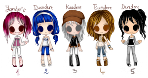 .:Adoptables #4 : Closed:. by Ailurophile-Chan