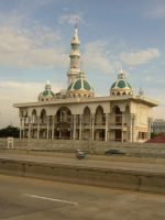 Mosque at Thailand by Olivares