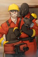 TF2: Thanks Partner by MooFrog44