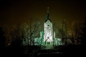 Whiten the church for business by Disfigurator
