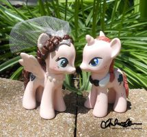 The Lucky Couple Cake Toppers by thatg33kgirl