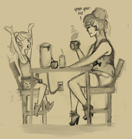 RC: The Cafe by Pastels-and-Blood