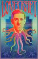 HP Lovecraft Poster Design by JSHatton