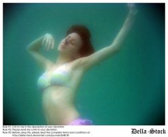 Fraulein Underwater by Della-Stock
