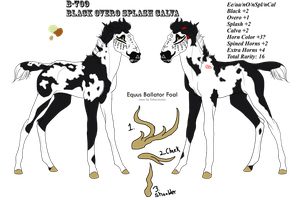 B-709 - Foal for TheWolf122 (Design Holder) by ToxicCreed