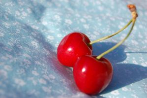 Cherries Two by Faceler
