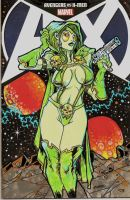 Gamora AvsX by dragonfish74