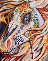 day of the dead horse by jupiterjenny