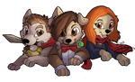 The Dogtor Pack by IzaPug