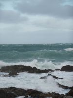 Stormy sea 2 by Lemondjinn