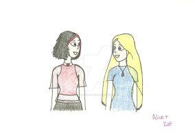 Kat and Alice by forevermagik