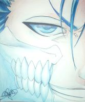 Grimmjow Jaggerjack ''Blue Light'' by TheGagaManga