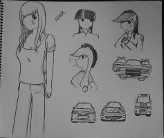 First doodles of 2013 by Ricky47