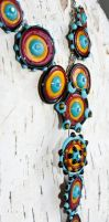 Otero Glass Lampwork Necklace by copperrein