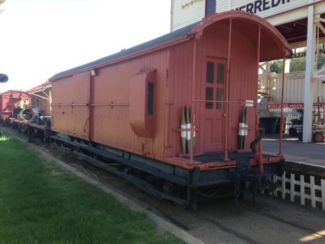 Merridin Railway Station Museum - Guards Van by The-ARC-Minister
