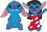 Lilo and Stitch request by IcarusMelody