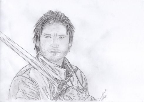 Jamie Lannister by angel-of-darkness29